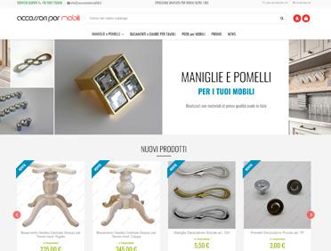 Accessori per mobili Ecommerce Prestashop