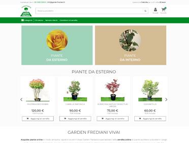 Garden Frediani Vivai Ecommerce Prestashop