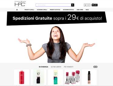 Hairpro Cosmetics Ecommerce Prestashop