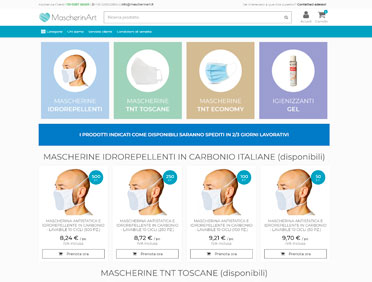 Mascherinart Ecommerce Prestashop