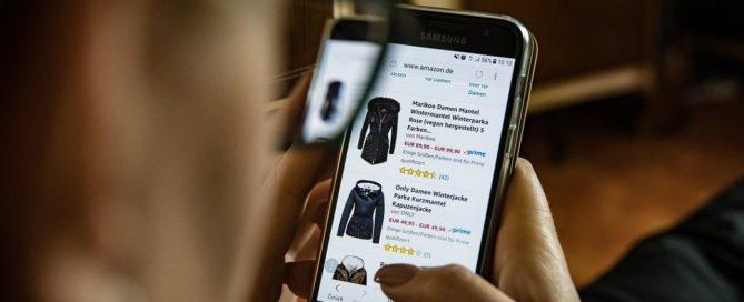 shopping online su ecommerce da mobile
