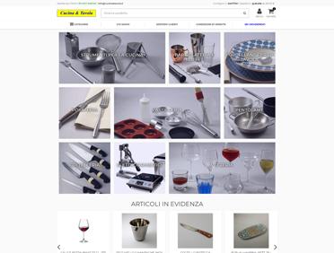 Cucina e Tavola Ecommerce Prestashop