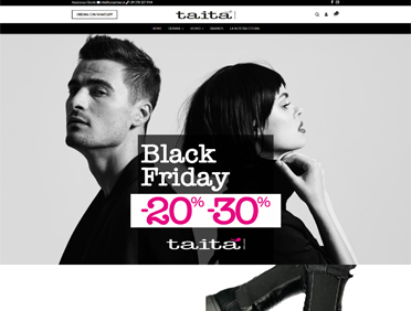 Tatià Shoes Ecommerce Prestashop